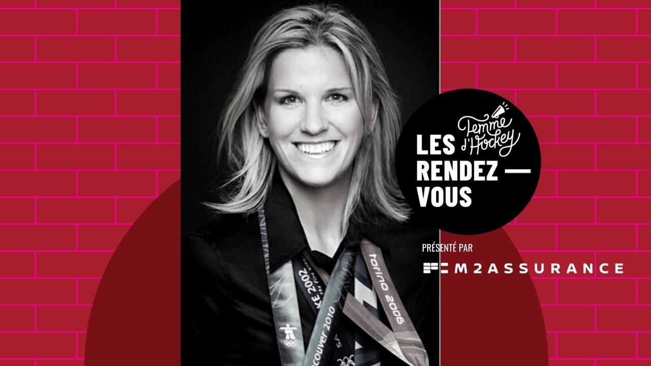 Kim St-Pierre aux Rendez-vous Femme d'hockey