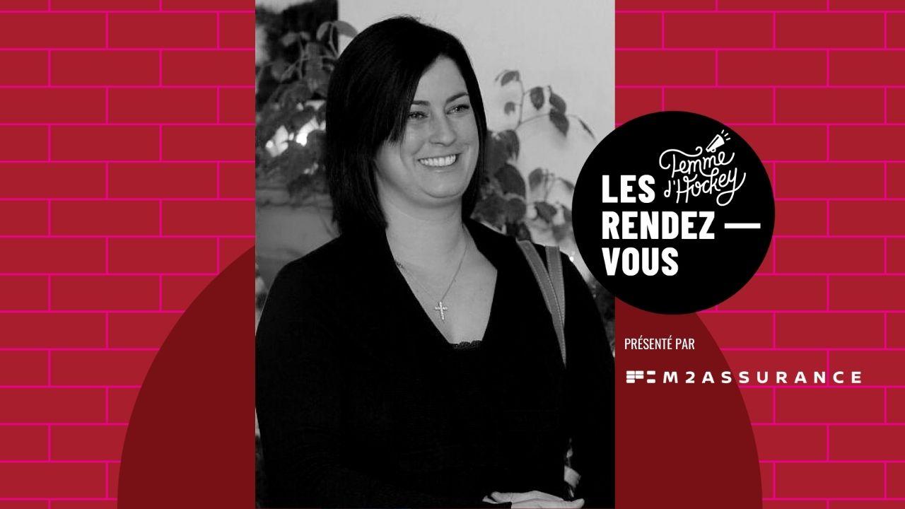 Rendez-vous femme d'hockey - Mélanie Trachy: maman de hockey