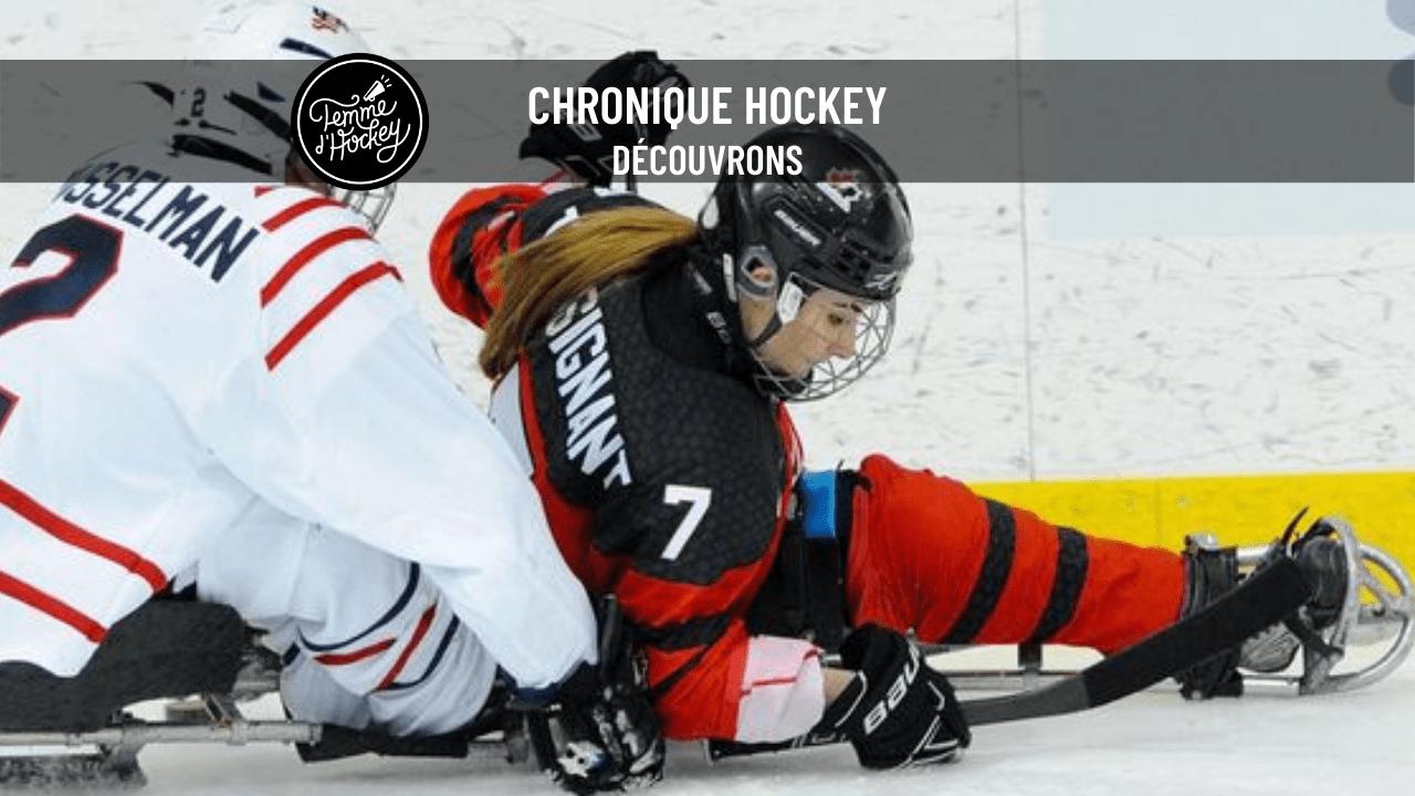 hockey luge femme hockey