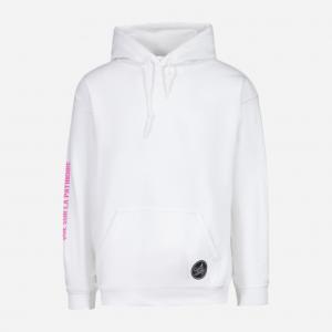 hoodie blanc Femme d'Hockey, le hockey ne se joue pas que sur la patinoire