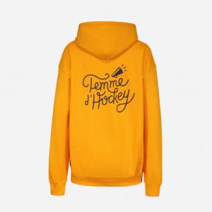 hoodie or Femme d'Hockey, le hockey derrière